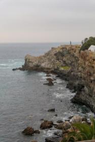 Südafrika South Africa Hermanus Kap Walker Bay Old Harbour Alter Hafen Klippen