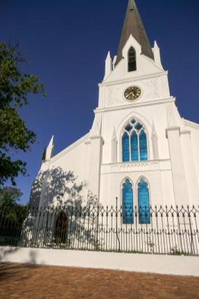 Südafrika South Africa Weinregion Winelands Stellenbosch Kirche
