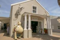 Südafrika South Africa Weinregion Winelands Franschhoek Laden Souvenirshop