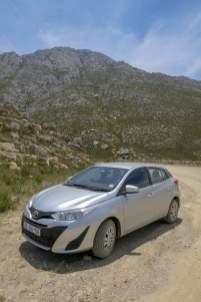 Südafrika South Africa Kleine Karoo Oudtshoorn Swartberge Swartberg Pass Berge Mietwagen Toyota
