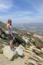 Südafrika South Africa Kleine Karoo Oudtshoorn Swartberge Swartberg Pass Berge Aussichtspunkt