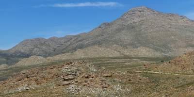 Südafrika South Africa Kleine Karoo Oudtshoorn Swartberge Swartberg Pass Berge Landschaft