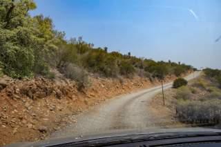 Südafrika South Africa Kleine Karoo Oudtshoorn Schoemanshoek Le Petit Karoo Ranch Anfahrt