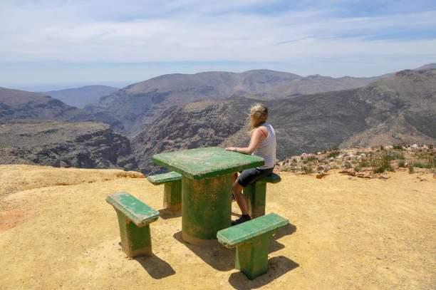 Südafrika South Africa Kleine Karoo Oudtshoorn Swartberge Swartberg Pass Berge Picknickplatz Aussichtspunkt Schlucht Ausblick