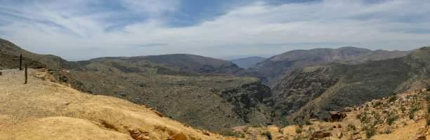 Südafrika South Africa Kleine Karoo Oudtshoorn Swartberge Swartberg Pass Berge Ausblick Panorama Schlucht