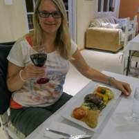 Südafrika South Africa Kleine Karoo Oudtshoorn Schoemanshoek Le Petit Karoo Ranch Restaurant Abendessen