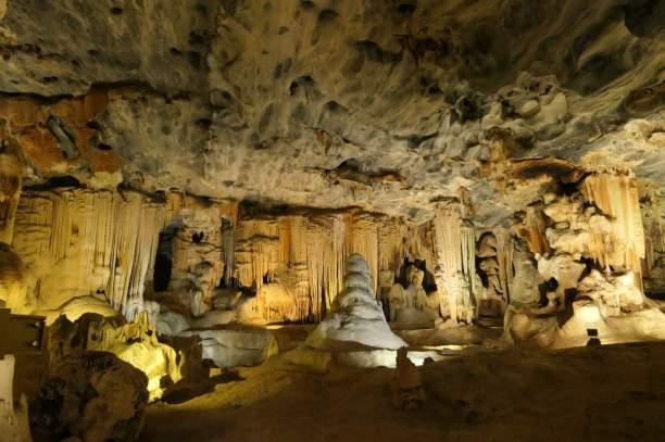 Südafrika South Africa Kleine Karoo Oudtshoorn Cango Caves Tropfsteinhöhle Höhle Stalagtiten Stalagmiten