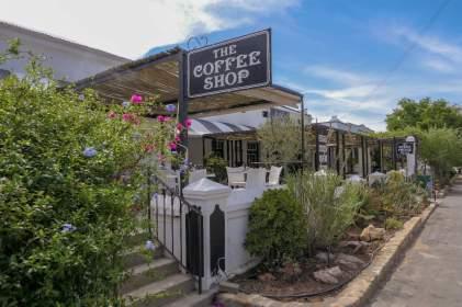 Südafrika South Africa Große Karoo Prince Albert Coffee Shop