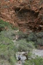 Südafrika South Africa Große Karoo Swartberge Meiringspoort Wasserfall Felsen
