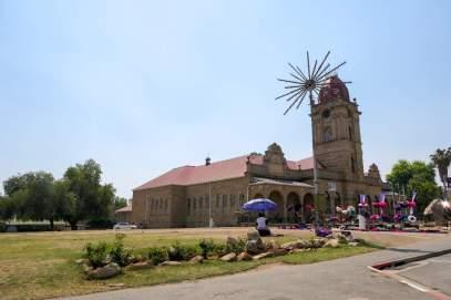 Südafrika South Africa Kleine Karoo Oudtshoorn City Kirche