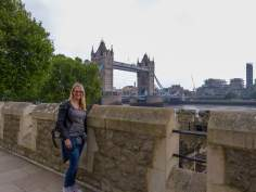 Großbritannien England UK London Tower of London Burg Befestigungsmauer Mauer Tower Bidge