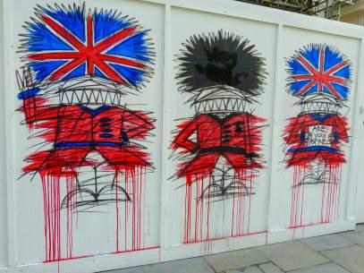 Großbritannien UK England London Streetart