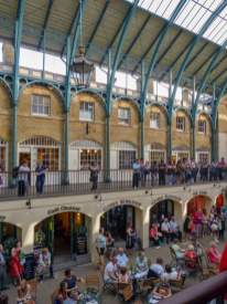 Großbritannien UK England London West End Covent Garden Market Hall Halle