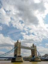 Großbritannien England UK London Tower Bridge Brücke Themse Himmel