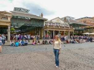 Großbritannien UK England London West End Covent Garden Market Hall Halle