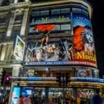 Großbritannien UK England London West End Theatreland Musicals Queens Theatre Nacht Les Miserables Les Mis