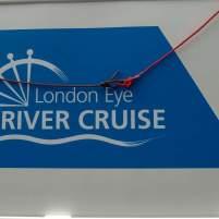 ^Großbritannien England UK London Themse Bootsfahrt River Thames Cruise Boot
