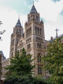 Großbritannien England UK London Natural History Museum Gebäude