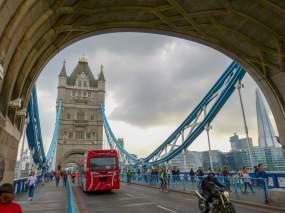 Großbritannien England UK London Tower Bridge Brücke Themse