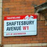Großbritannien UK England London West End Theatreland Musicals Shaftesbury Avenue