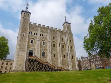 Großbritannien England UK London Tower of London Burg Whiter Tower