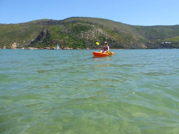 Afrika Südafrika South Africa Garden Route Knysna Lagune Kajak Paddeln