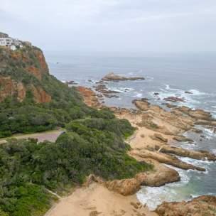 Afrika Südafrika South Africa Garden Route Knysna Eastern Heads Ausblick Meer Strand