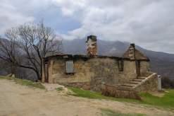 Afrika Südafrika South Africa Montagu Pass Outeniqua Berge Buschfeuer Haus