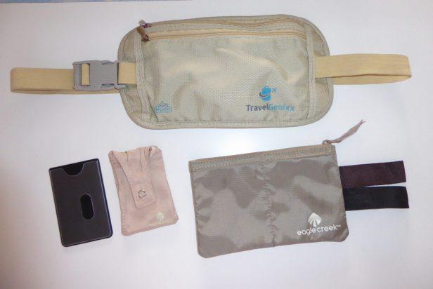 Travel Hack Sicherheit Sicherheitstaschen Bauchtasche Gürteltasche BH Tasche RFID Schutz