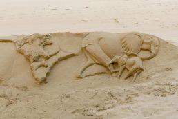 Südafrika South Africa Kap Garden Route Plettenberg Bay Lookout Beach Strand Sand