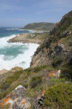 Südafrika South Africa Garden Route Kap Plettenberg Bay Robberg Nature Reserve Naturreservat Nelson Bay Cave Höhle Wanderung Küste