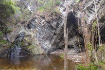 Südafrika South Africa Garden Route Kap Tsitsikamma Nationalpark Storms River Restcamp SAN Park Mouth Trail Wanderung Pavian Höhle