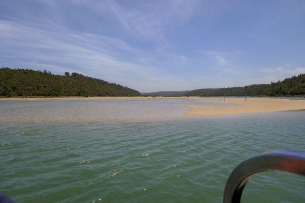 Südafrika South Africa Garden Route Ostkap Sibuya Game Reserve Fluss Kariega Kenton on Sea Boot