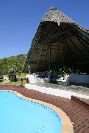 Südafrika South Africa Garden Route Ostkap Sibuya Game Reserve Wildreservat Bush Lodge Pool