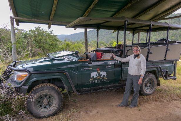 Südafrika South Africa Garden Route Ostkap Sibuya Game Reserve Wildreservat Game Drive Safari Safariwagen Landcruiser