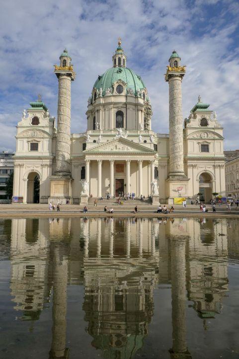 Wien Österreich Vienna Karlskirche Kirche