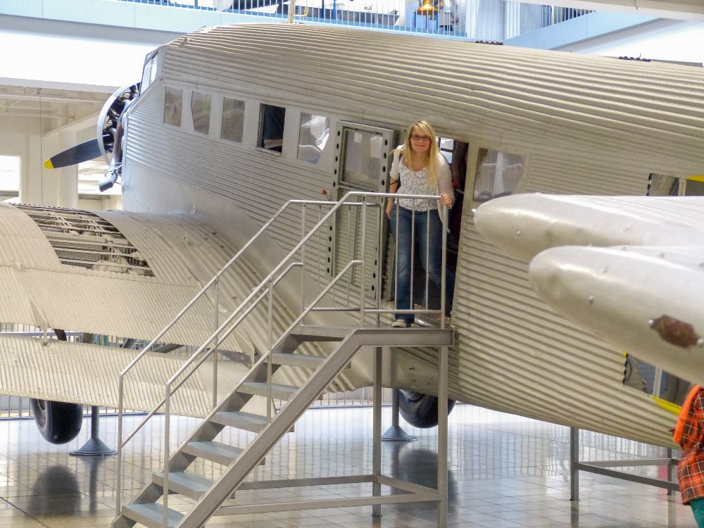 Deutsches Museum München Deutschland Naturwissenschaft Technik Luftfahrt