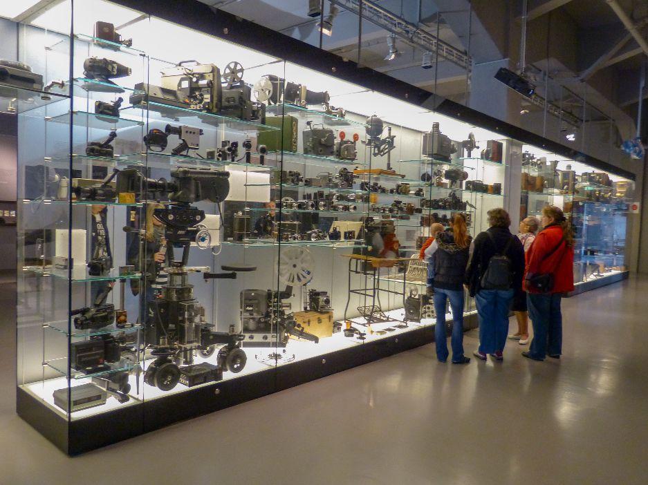 Deutsches Museum München Deutschland Naturwissenschaft Technik Maschinen Kameras