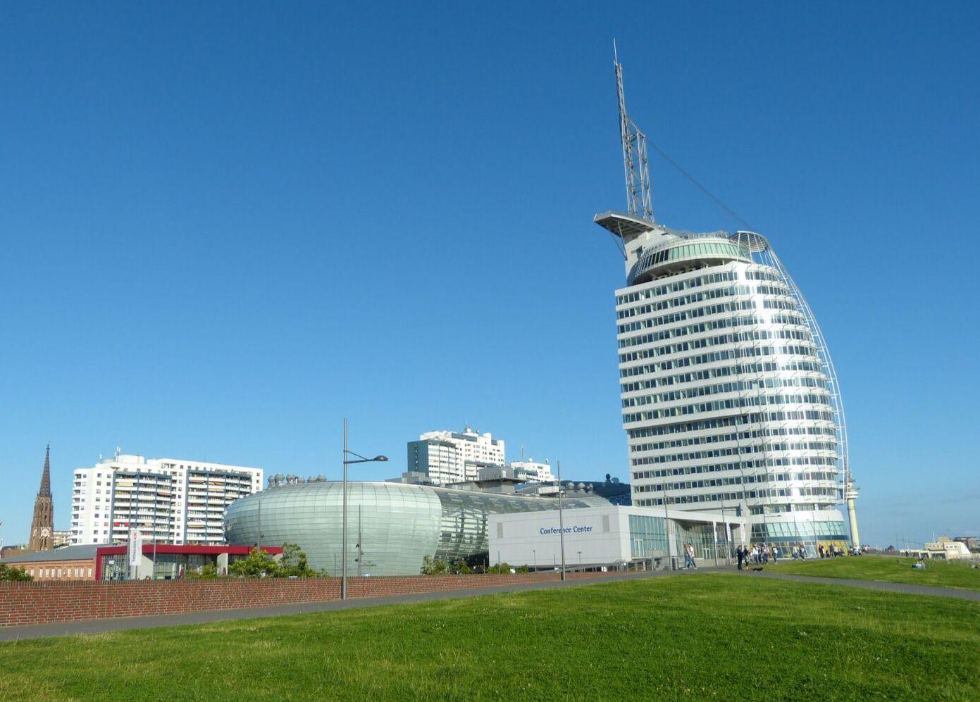 Bremerhaven Deutschland Klimahaus Museum Klima Wetter