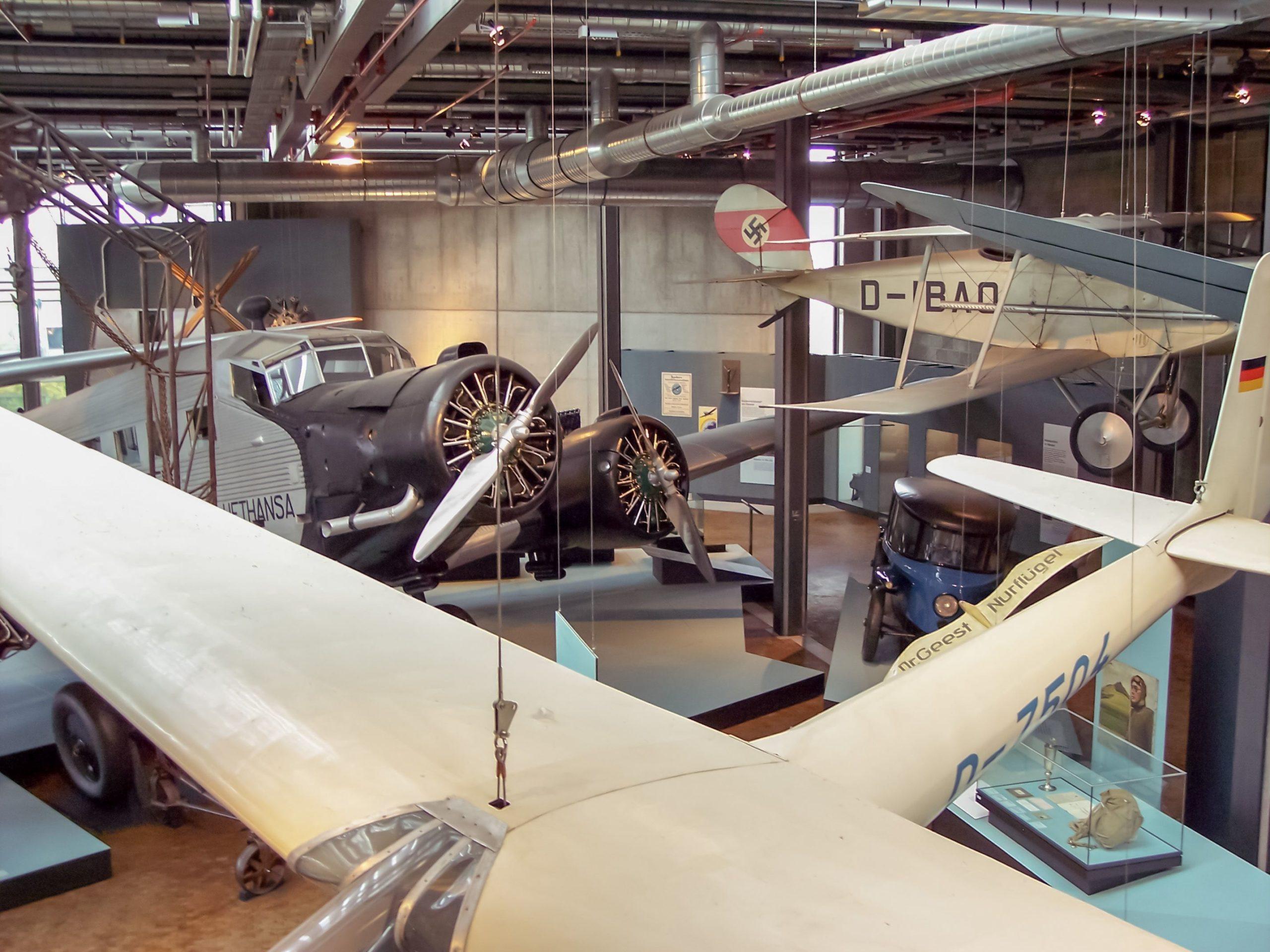 Deutsches Technikmuseum Berlin Deutschland Museum Technik Verkehr Wissenschaft Flugzeug Luftfahrt