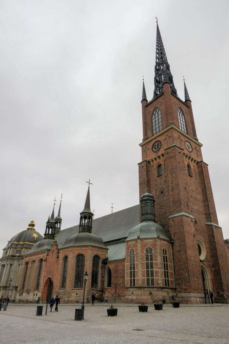 Stockholm Schweden Gamla Stan Riddarholmen Riddarholmskyrkan