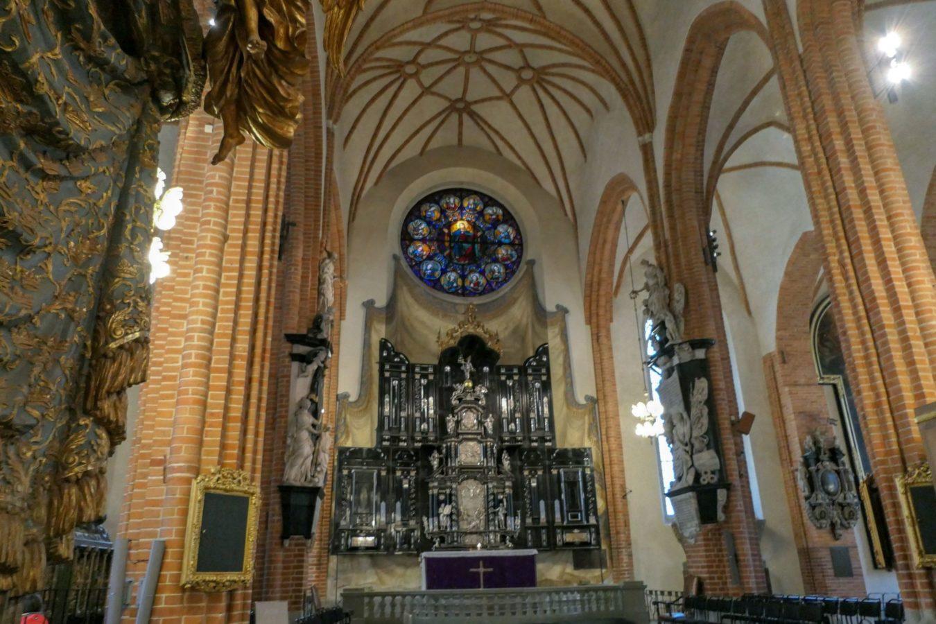 Stockholm Schweden Gamla Stan Stadsholmen Altstadt Storykyrkan Kirche Altar