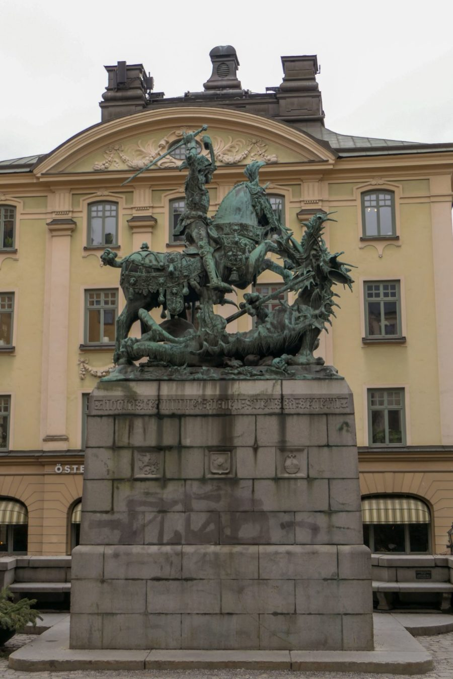 Stockholm Schweden Gamla Stan Stadsholmen Altstadt Denkmal