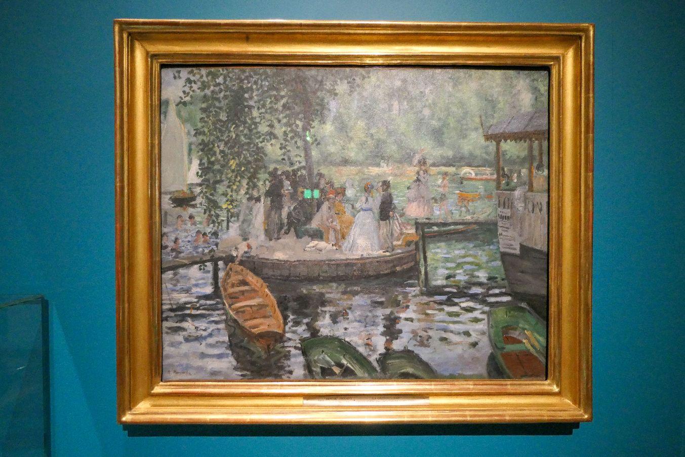 Stockholm Schweden Nationalmuseum Museum Kunst Gemälde La Grénouillere Auguste Renoir
