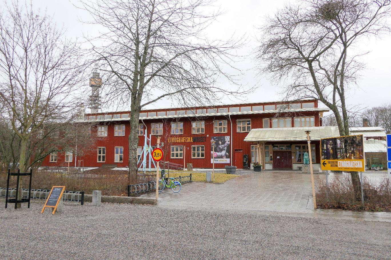 Stockholm Schweden Museum Ethografiska Museet Ethnografisches Museum