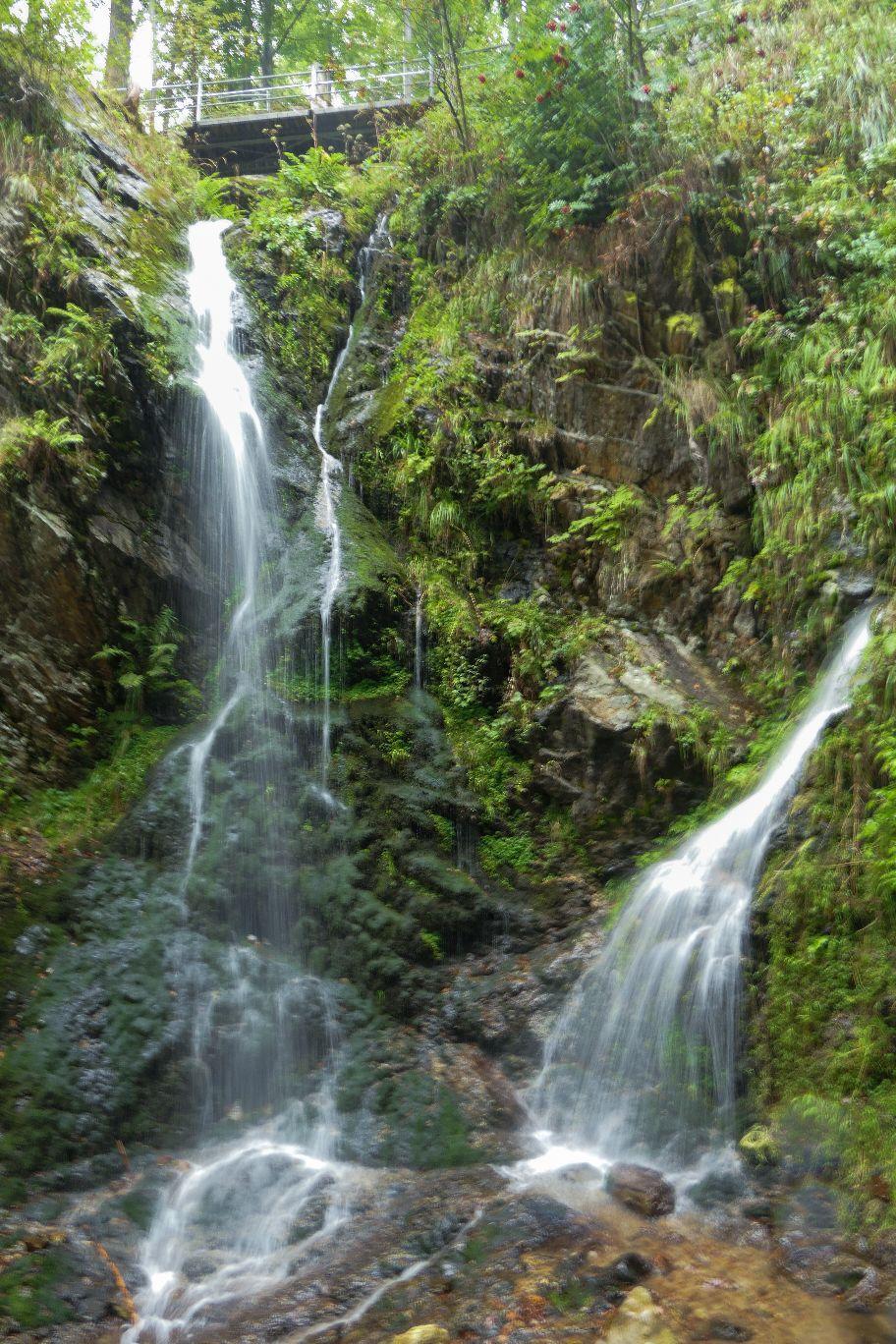 Deutschland Schwarzwald Hochschwarzwald Fahler Wasserfall Wandern Natur