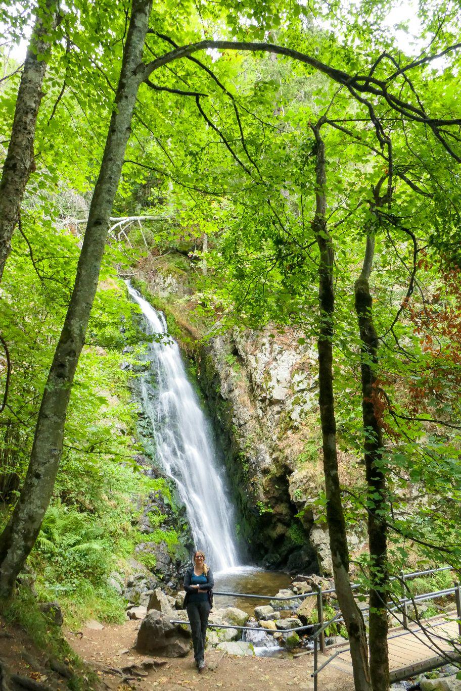Deutschland Schwarzwald Hochschwarzwald Todtnauberg Todtnauer Wasserfall dritte Stufe