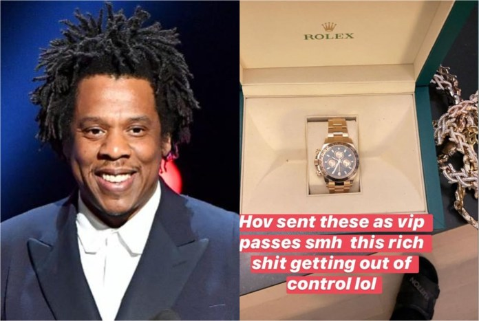 $40K worth Rolex watches from Jay Z to Meek Mill and Swizz Beatz, others.