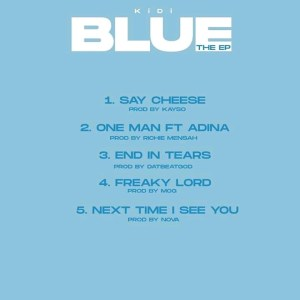 #BlueEP: Kidi pens down another love letter in Blue, check it out