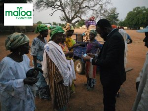 Maloa Foundation enrolls numerous of the needy society onto the NHIS